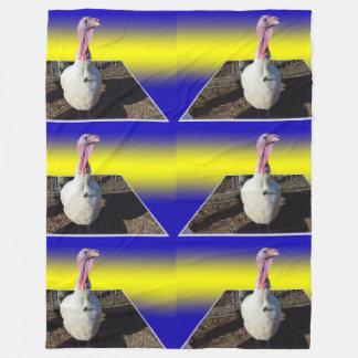 Weiße die Türkei Maßpopout-Kunst, Fleecedecke