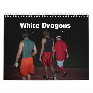 Weiße Drachen - besonders angefertigt Kalender