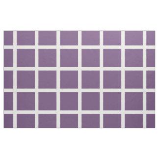 Weiße Fensterscheiben-Streifen auf perfekter Stoff