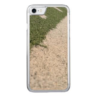 Weiße Fußball-Linie Carved iPhone 8/7 Hülle