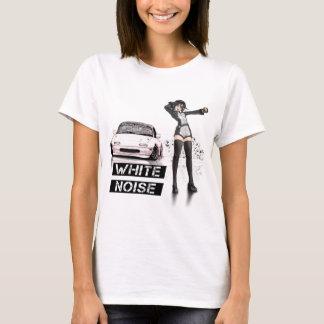 Weiße Geräusche MX5 Miata T-Shirt