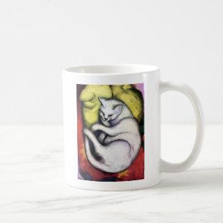 Weiße Katze, Franz Marc Tasse