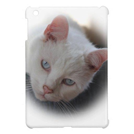 Weiße Katze iPad Mini Schale