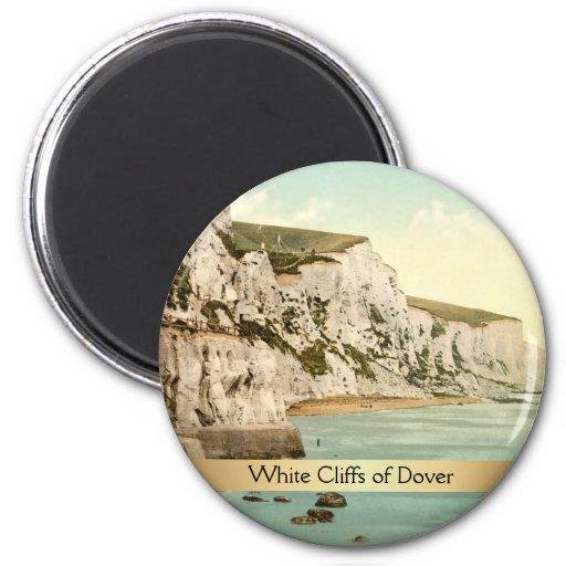 Weiße Klippen von Dover, Kent, England Magnets