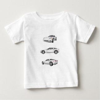 Weiße Korvette: Baby T-shirt