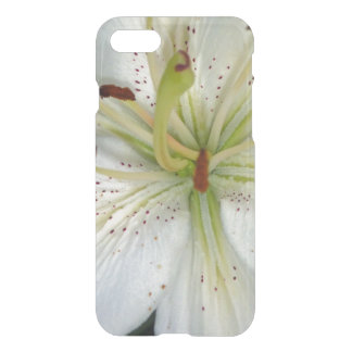 Weiße Lilien-nahes hohes iPhone 8/7 Hülle