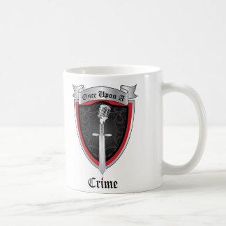 Weiße Logo-Tasse Kaffeetasse