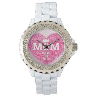 Weiße Mutterköniginuhr Uhr