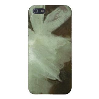 Weiße Narzissen-Blumenimpressionist-Malerei iPhone 5 Case