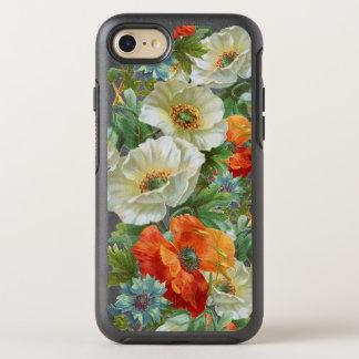 Weiße orange Mohnblume BlumeniPhone 7/8 Otterbox OtterBox Symmetry iPhone 8/7 Hülle