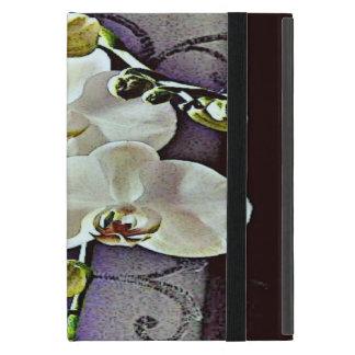 Weiße Orchideen iPad Mini Etuis