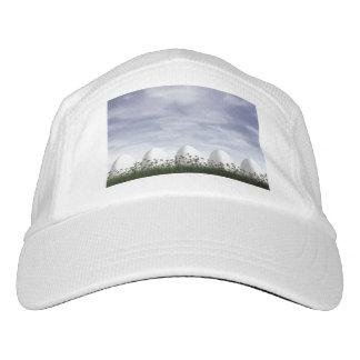 Weiße Ostereier in der Natur - 3D übertragen Headsweats Kappe