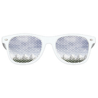 Weiße Ostereier in der Natur - 3D übertragen Sonnenbrille