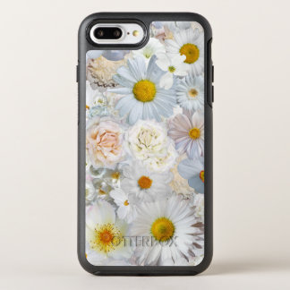 Weiße OtterBox Symmetry iPhone 8 Plus/7 Plus Hülle