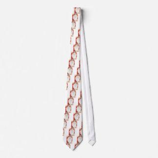 Weiße persische Katze Krawatte