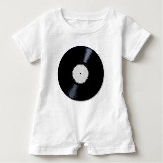 Weiße Plattenfirma Baby Strampler