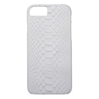 Weiße Pythonschlange iPhone 8/7 Hülle