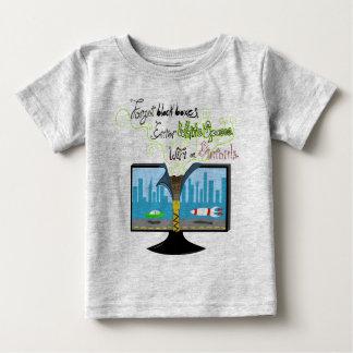 Weiße Räume: WiFi auf Steroiden Baby T-shirt