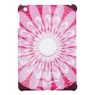 Weiße ROSA Rad Chakra Mandala Dekorationen iPad Mini Hülle