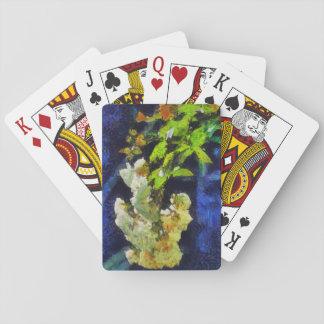 Weiße Rosen Spielkarten