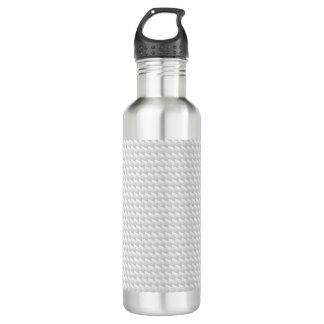 Weiße scharfe Punkte Trinkflasche