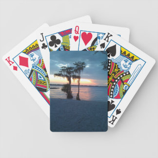 Weiße See NC-Dämmerungs-Spielkarten Bicycle Spielkarten