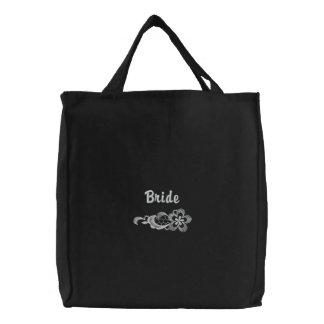 Weiße Spitze-Hochzeit - Braut-Tasche