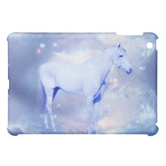Weiße Stallionsphantasie iPad Mini Schale