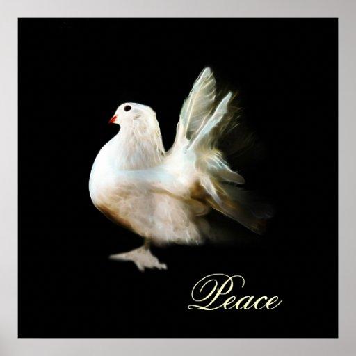 Weiße Taube Symbol