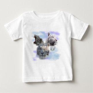 Weiße Tiger Baby T-shirt