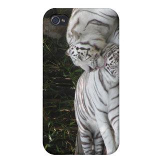 Weiße Tiger iPhone 4 Etuis