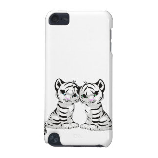 Weiße Tiger-Zwillinge iPod Touch 5G Hülle