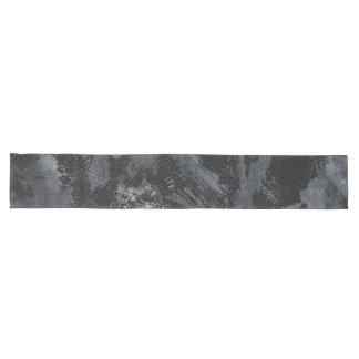 Weiße Tinte auf schwarzem #2 Großer Tischläufer