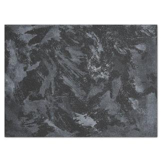 Weiße Tinte auf schwarzem #2 Seidenpapier
