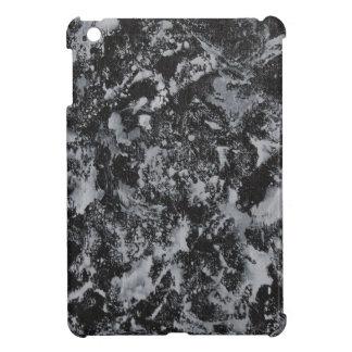 Weiße Tinte auf schwarzem #4 iPad Mini Hülle