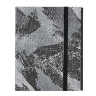Weiße Tinte auf schwarzem Hintergrund #3 Schutzhülle Fürs iPad