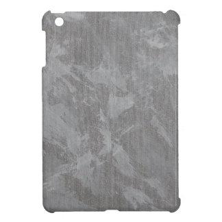 Weiße Tinte auf silbernem Hintergrund iPad Mini Hülle
