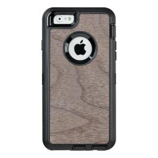 Weiße Walnuss-hölzerner Korn-Blick OtterBox iPhone 6/6s Hülle