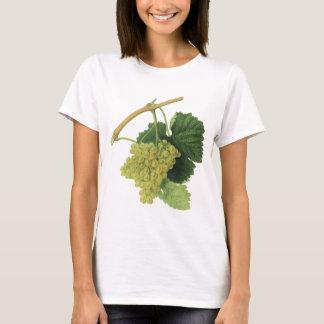 Weiße Weintrauben auf der Rebe, Vintage T-Shirt