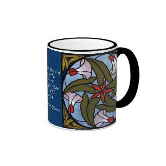 Weiße Winden - Gertrude Stein-Zitat Kaffeehaferl