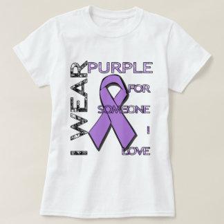 Weißen - Dame - Alzheimer Bewusstsein T-Shirt