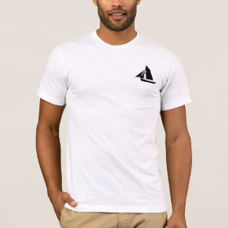 Weißer amerikanischer T - Shirt der