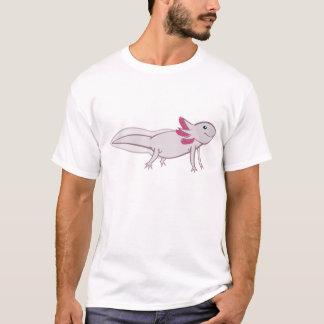 Weißer Axolotl T-Shirt