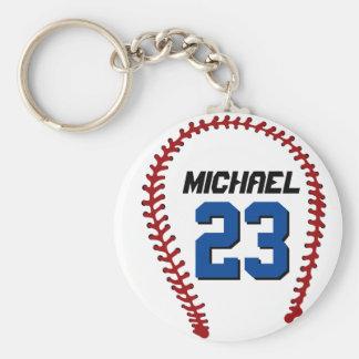 Weißer Baseball Keychain für Sport-Fan oder Schlüsselanhänger