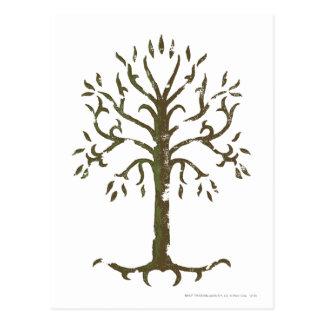 Weißer Baum von Gondor Postkarte