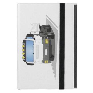 weißer Baustellen LKW iPad Mini Hüllen