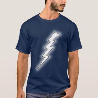 Weißer Blitz-Shirt T-Shirt
