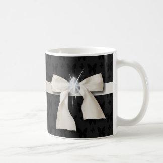weißer Bogendiamantleuchter 16. Geburtstag Kaffeetasse