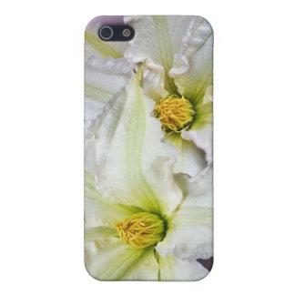 Weißer Clematis Hülle Fürs iPhone 5