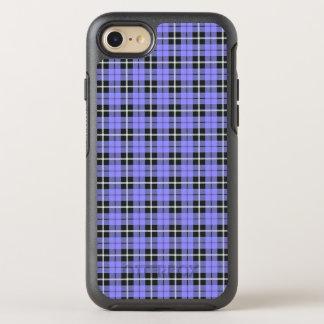 weißer des Lavendelhimmels hellblauer/schwarzer OtterBox Symmetry iPhone 8/7 Hülle
